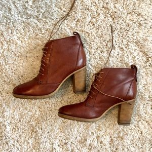 Madewell genuine leather heeled ankle boots